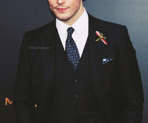 the hunger games and sam claflin image