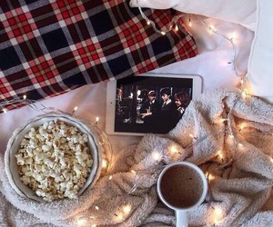 harry potter, christmas, and coffee image