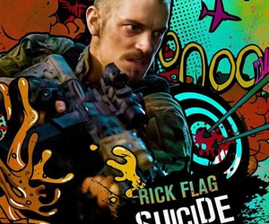 suicide squad and rick flag image