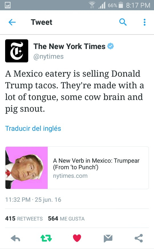 funny, trump, and tacos image
