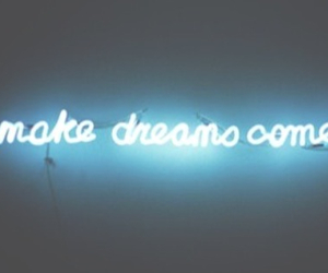 Dream, blue, and light image