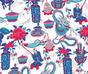 asian, background, and cotton image
