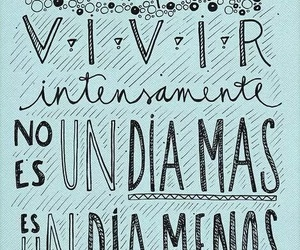 live, frases, and DIA image