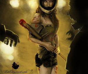 art, guts, and zombie image