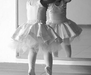 girl, ballet, and baby image