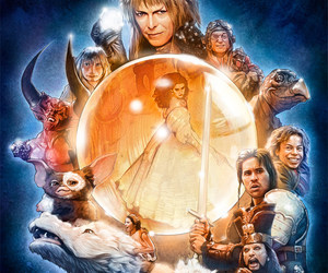 david bowie, fantasy, and labyrinth image