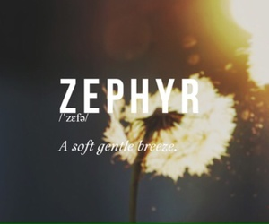 breeze, meaning, and zephyr image