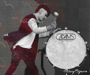 drum, drummer, and thekolors image