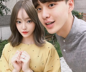 asian, ulzzang, and korean couple image