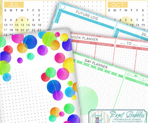 calendar, etsy, and day planner image