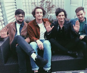 the 1975, matty healy, and adam hann image