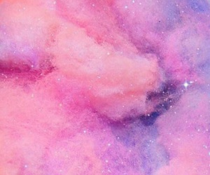 pink, galaxy, and background image