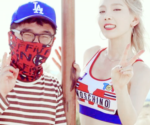 girls generation, kim taeyeon, and Moschino image