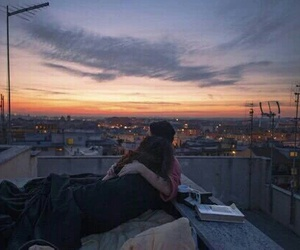 beautiful, california, and rooftop image
