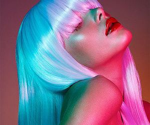 hair, wig, and beauty image