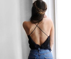 backless, chic, and denim image