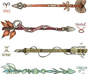 zodiac, aries, and gemini image