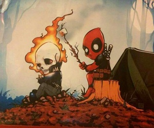 deadpool and ghost rider image
