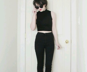 basic, girl, and outfit image