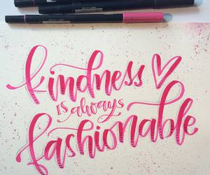 calligraphy, handlettering, and lettering image