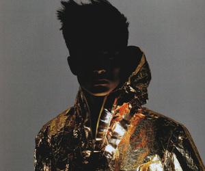 fashion, boy, and gold image