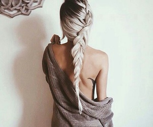 braid, moda, and boho image