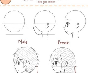 anime, drawing, and female image