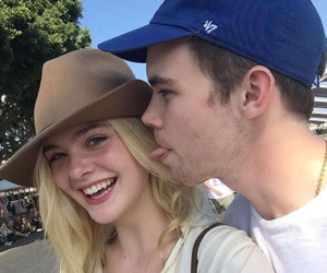 couple, Elle Fanning, and goals image
