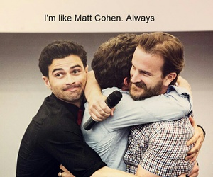 funny, supernatural, and matt cohen image