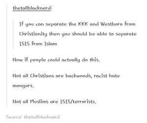 Christianity, equal rights, and islam image