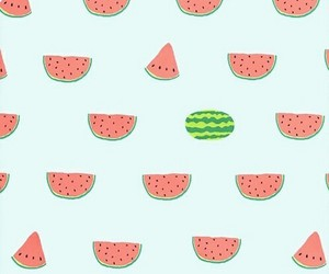background, FRUiTS, and watermelon image