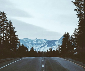 mountains, travel, and wild image