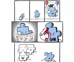 puzzle, society, and true image