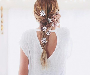 flowers, style, and girl image