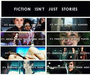 divergent, harry potter, and percy jackson image
