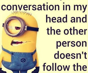 minions, funny, and quotes image