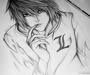 anime, death note, and deathnote image
