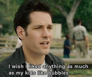bubbles, paul rudd, and knocked up image