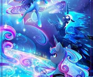 blue, my little pony, and cartoon image