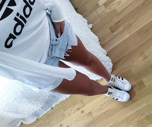 adidas, girl, and summer image