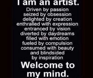 artist and quotes image