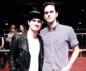 brendon urie, P!ATD, and dallon weekes image
