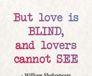 blind, lovers, and quote image
