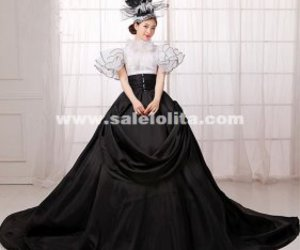 lolita dress, wedding dress, and marie antoinette dress image