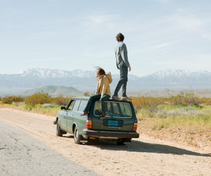 car, boy, and couple image