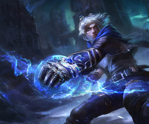 ezreal, league of legends, and lol image