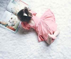 baby and book image