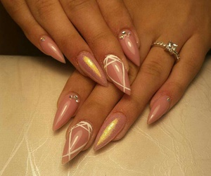diamonds, ring, and stiletto image