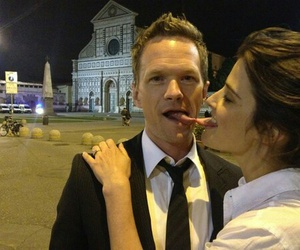 cobie smulders, neil patrick harris, and barney image