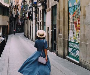 girl, spain, and travel image